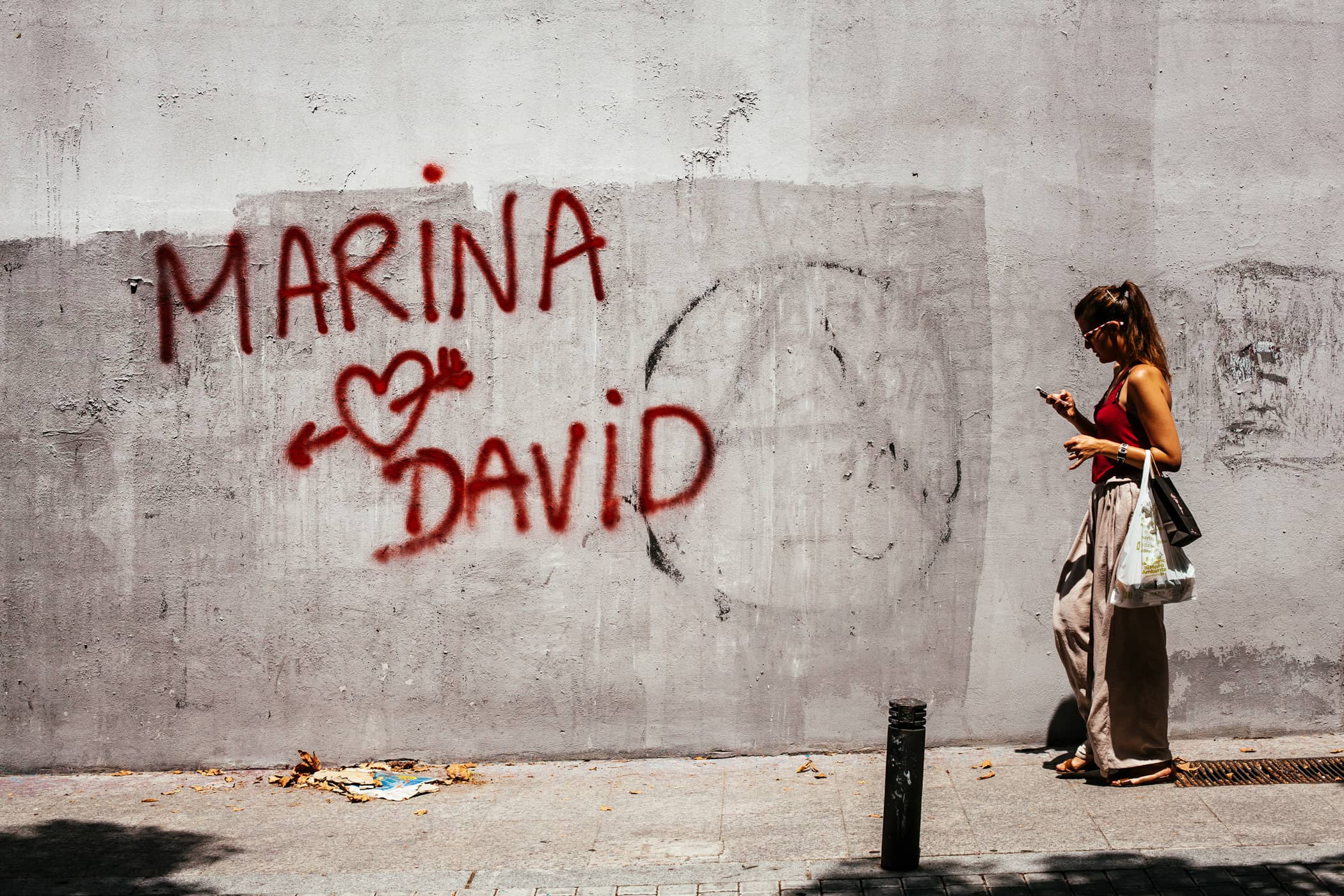 El ojo izquierdo - Marina and david